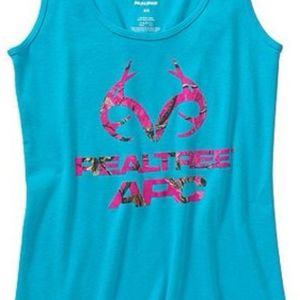 RealTree tank top with pink camo